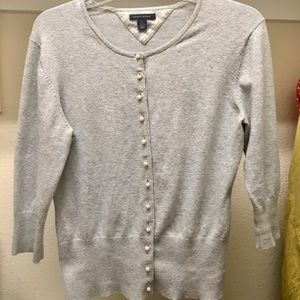 Tommy Hilfiger Pearl Button Cardigan